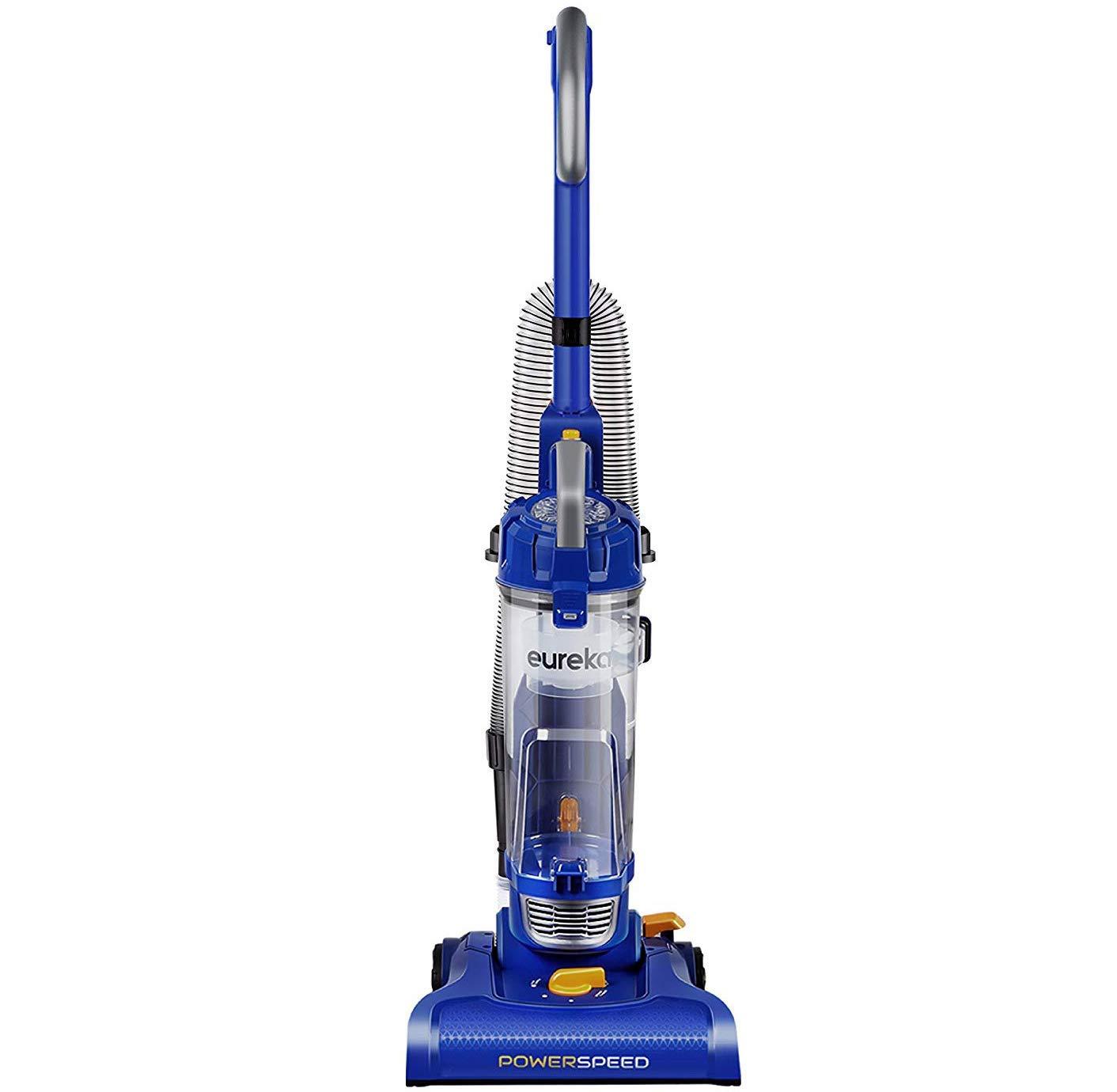 Eureka NEU182A PowerSpeed Lightweight Bagless Upright Vacuum Cleaner, Blue (Renewed) by EUREKA