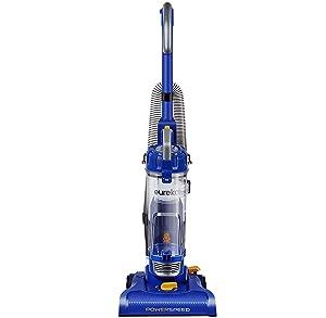 Eureka NEU182A PowerSpeed Lightweight Bagless Upright Vacuum Cleaner, Blue (Renewed)