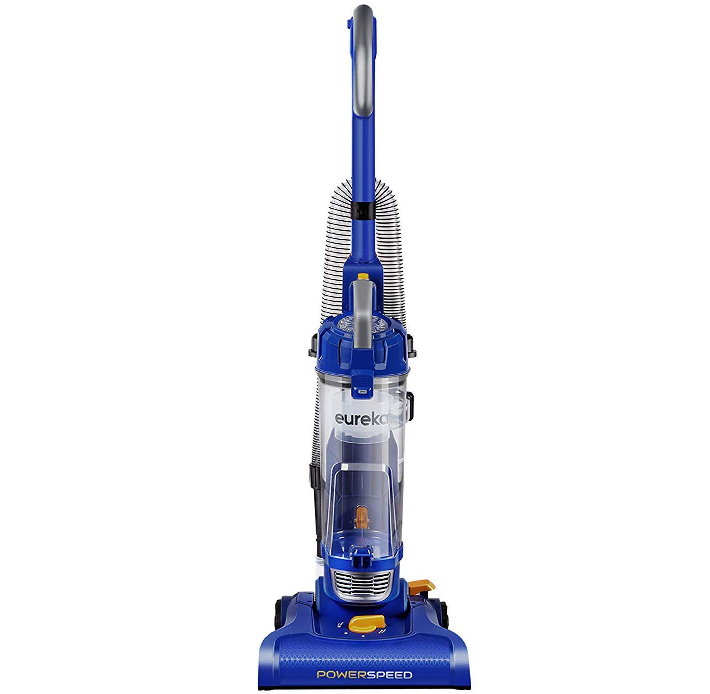 Eureka NEU182A PowerSpeed Lightweight Bagless Upright Vacuum Cleaner, Blue (Renewed)