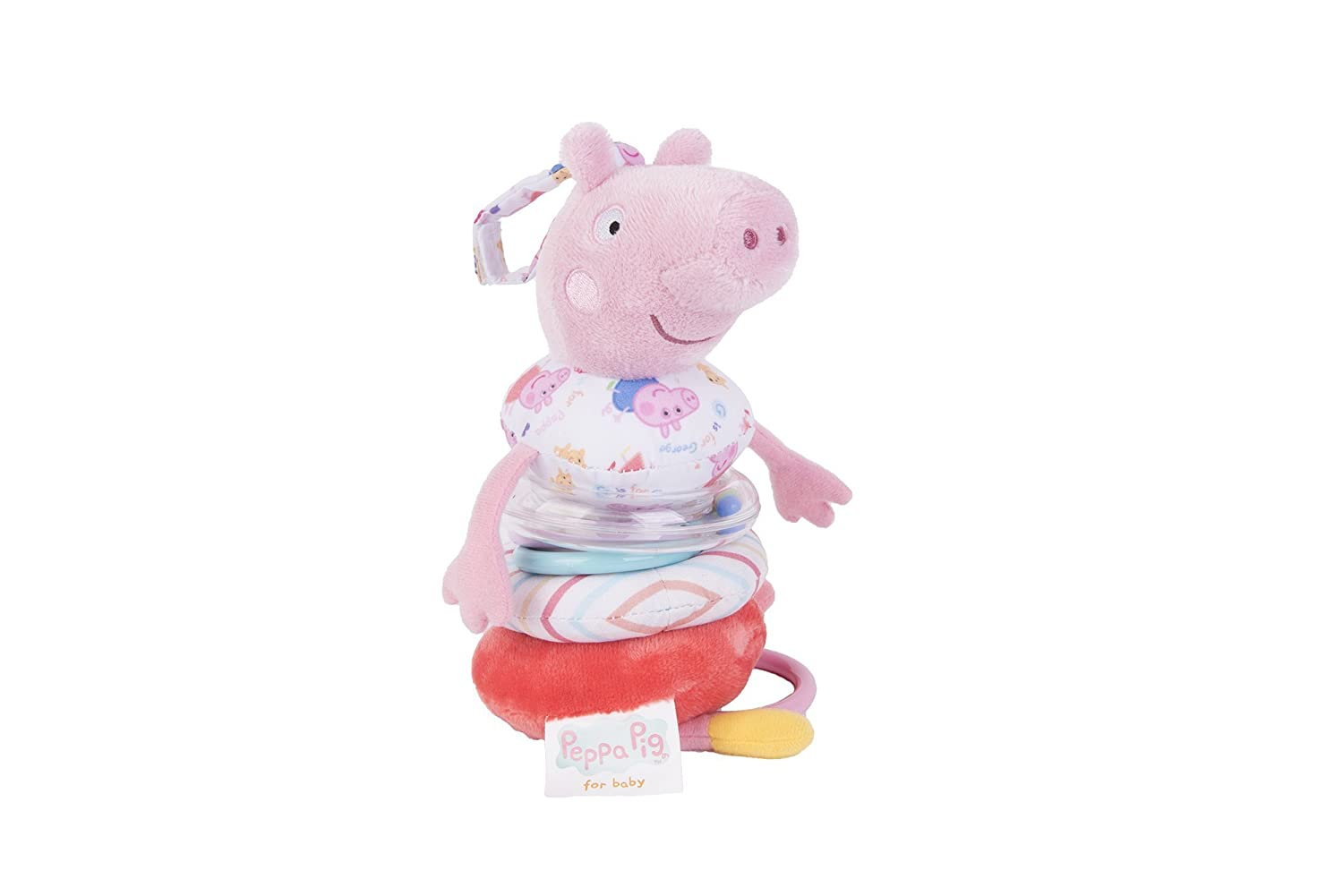 Rainbow Designs Peppa Pig for Baby Jiggle Peppa Pig RAINBOW DESIGNS LTD PP1339