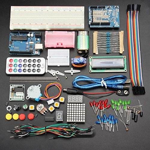 Price comparison product image Learn Electronics Starter Kit - Arduino Starter Kit - UNO R3 Basic Learning Starter Kits Upgrade Version For (Arduino Kit Starter)