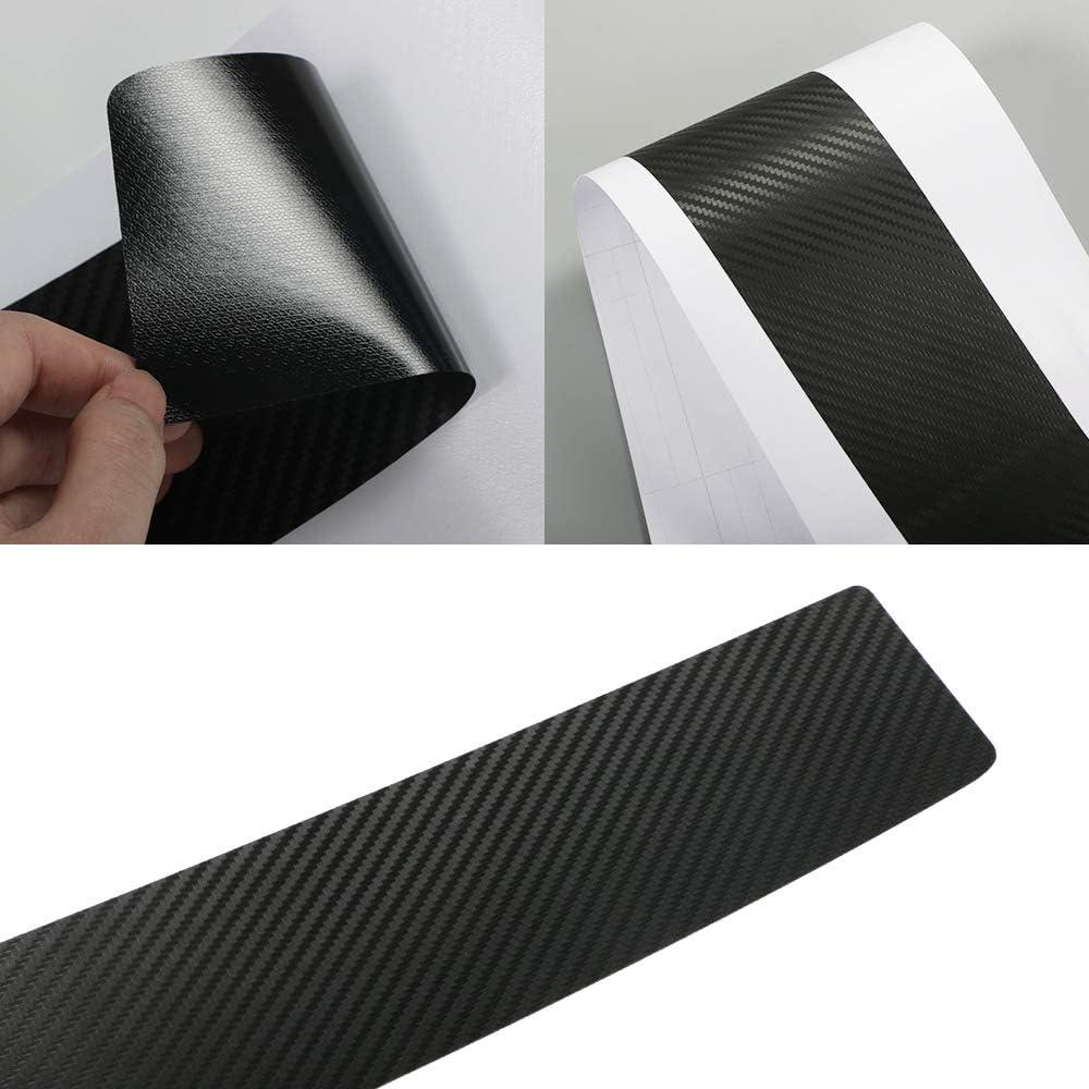 Protezione per Il Bagagliaio Automatico GIVELUCKY Per Toyota C-HR Adesivi AntiGraffio Accessori per la Decorazione del paraurti Posteriore per Auto Protezioni in Fibra di Carbonio
