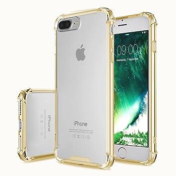 coque silicone jaune iphone 7 plus