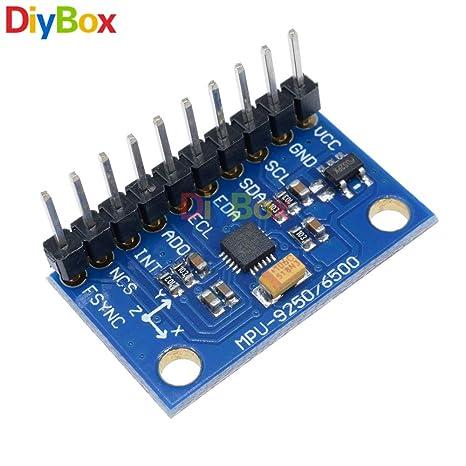 SPI/IIC GY-9250 MPU 9250 MPU-9250 9-Axis Attitude +Gyro+Accelerator+Magnetometer Sensor Module MPU9250 - - Amazon.com