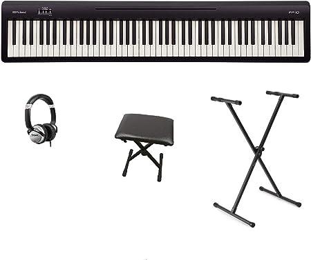Roland FP-10 FP10 - Juego de piano digital y soporte para X ...