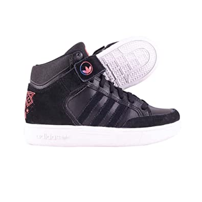 adidas Originals Varial Mid I, Baskets mode mixte enfant - Noir (Noiess/Bleazu