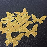 Butterfly Table Confetti Set for Bridal Shower/Engagement Decorations Wedding Party Events Supplies 100pcs/lot