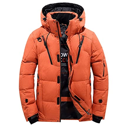 Amazon.com  Big Sale! Daoroka Mens Winter Warm Hoodies Coat Jacket ... 6d8435e8e5c