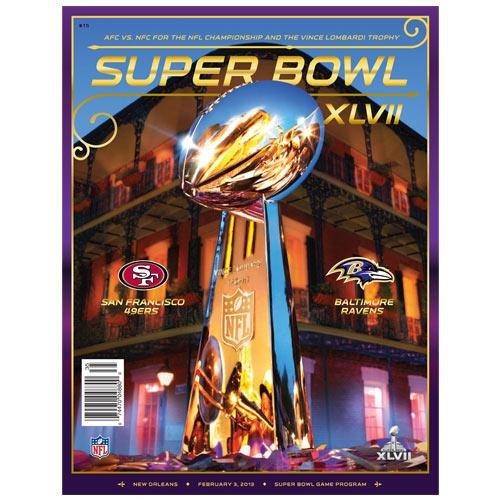 San Francisco 49ers vs. Baltimore Ravens Super Bowl XLVII Program