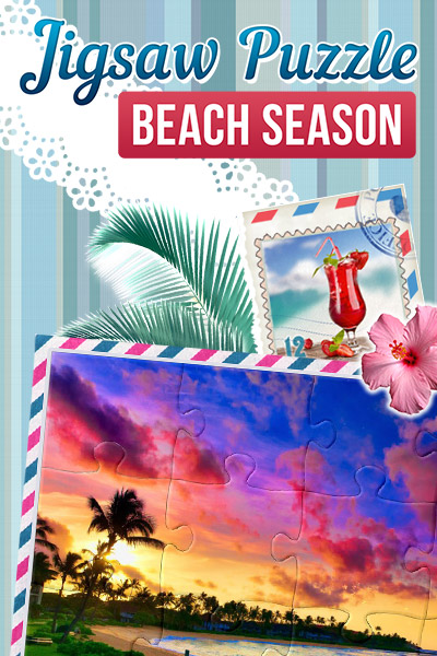 Jigsaw Puzzle Beach Season Download product image
