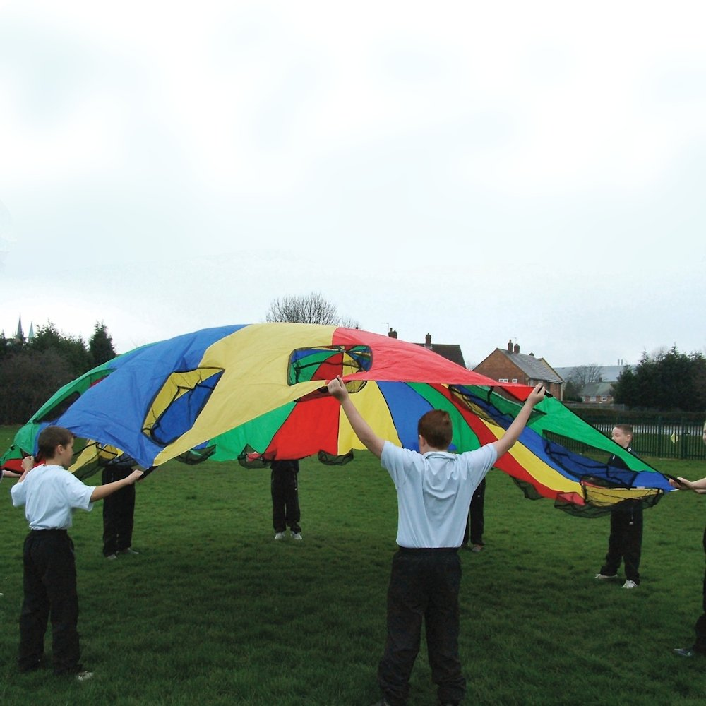 Kids Garden Game Porthole Parachutes 20ft