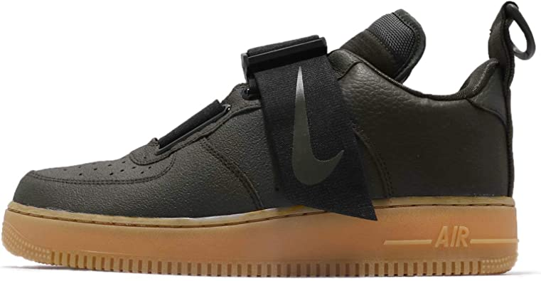 Nike Air Force 1 Utility Mens Sneakers AO1531 300 Multiple, Black, Size 13.0