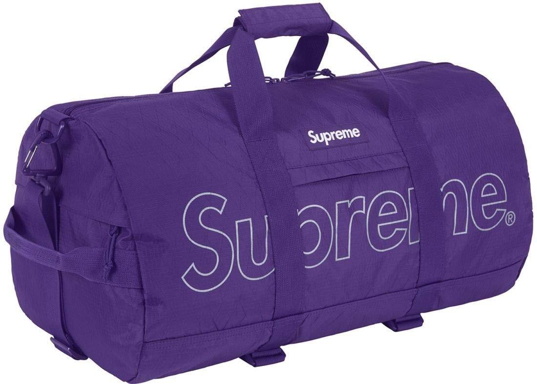 09b95dff7cd Amazon.com | Supreme FW18 Duffle Bag Purple Brand New 100% Authentic ...