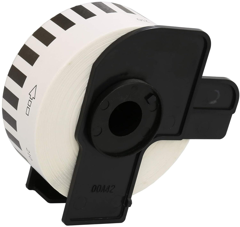 5 Compatibili Rotoli DK-22214 12mm x 30.48m Etichette adesive continuo per Brother P-Touch QL-500 QL-550 QL-560 QL-570 QL-700 QL-720NW QL-800 QL-810W QL-820NWB QL-1050 QL-1060N QL-1100 QL-1110NWB