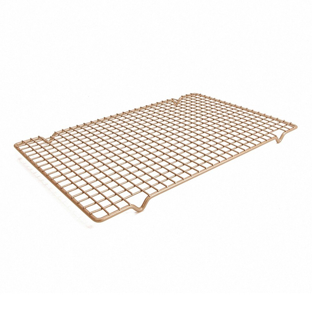 Chefmade Non-Stick Cooling Rack Professional Bakeware Champagne B077D67S5G