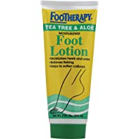 FooTherapy Foot Lotion, Tea Tree & Aloe, 7 Ounce