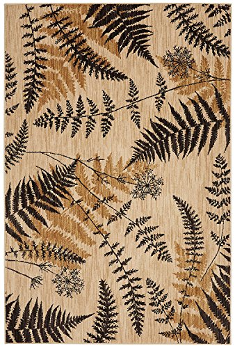 Mohawk Home Bob Timberlake Heritage Ridge Ferns Woven Rug, 8'x10', Light Camel