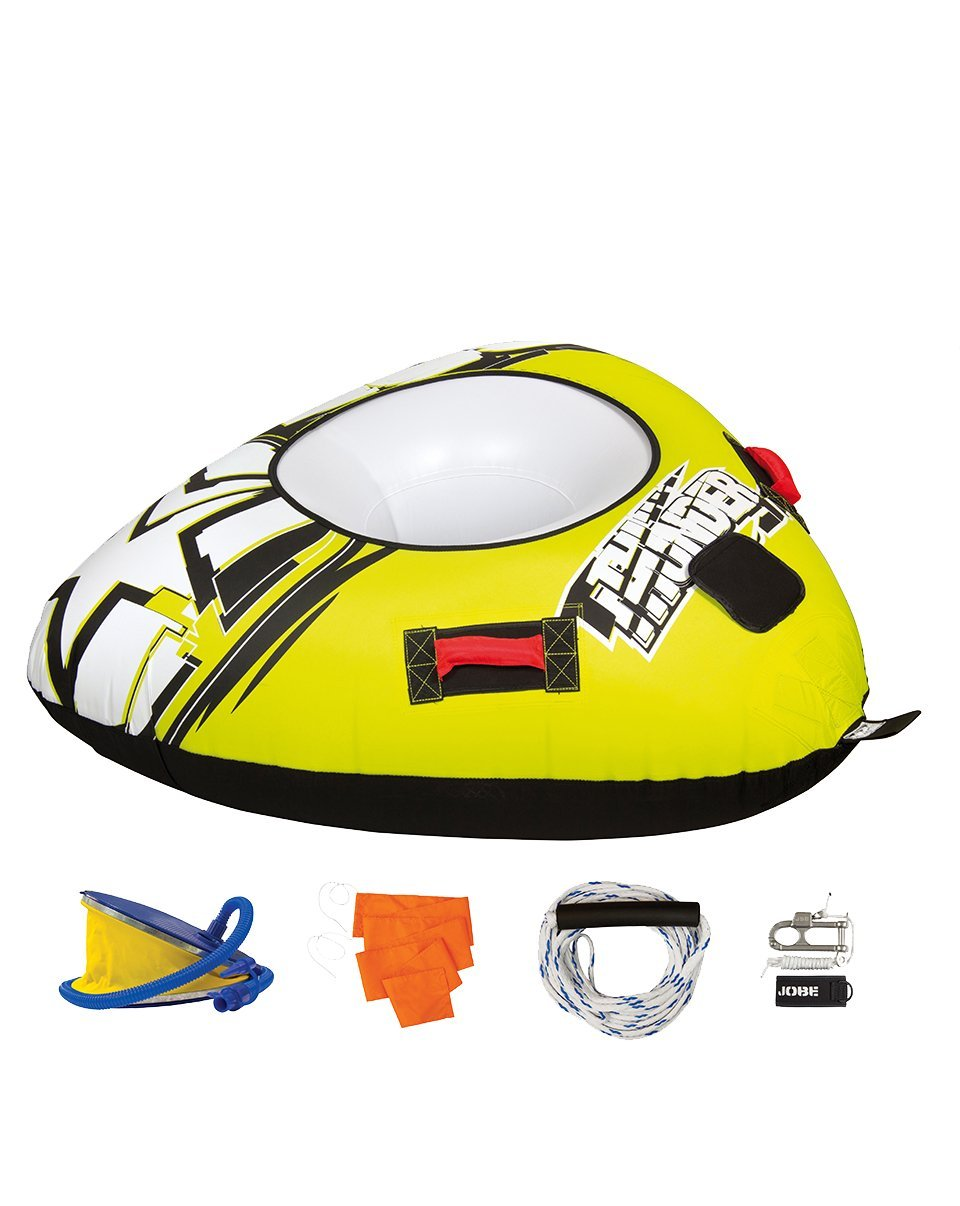 Jobe Thunder Package 1P - Flotador de Arrastre, Color Amarillo: Amazon.es: Deportes y aire libre