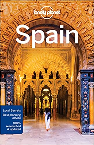 Lonely Planet Spain (Travel Guide) Book Cover