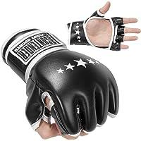 Contender Fight Sports MMA Guantes de Entrenamiento híbridos sintéticos