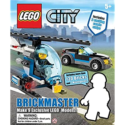 LEGO City Brickmaster - Hardcover (520522): DK Publishing: Toys & Games