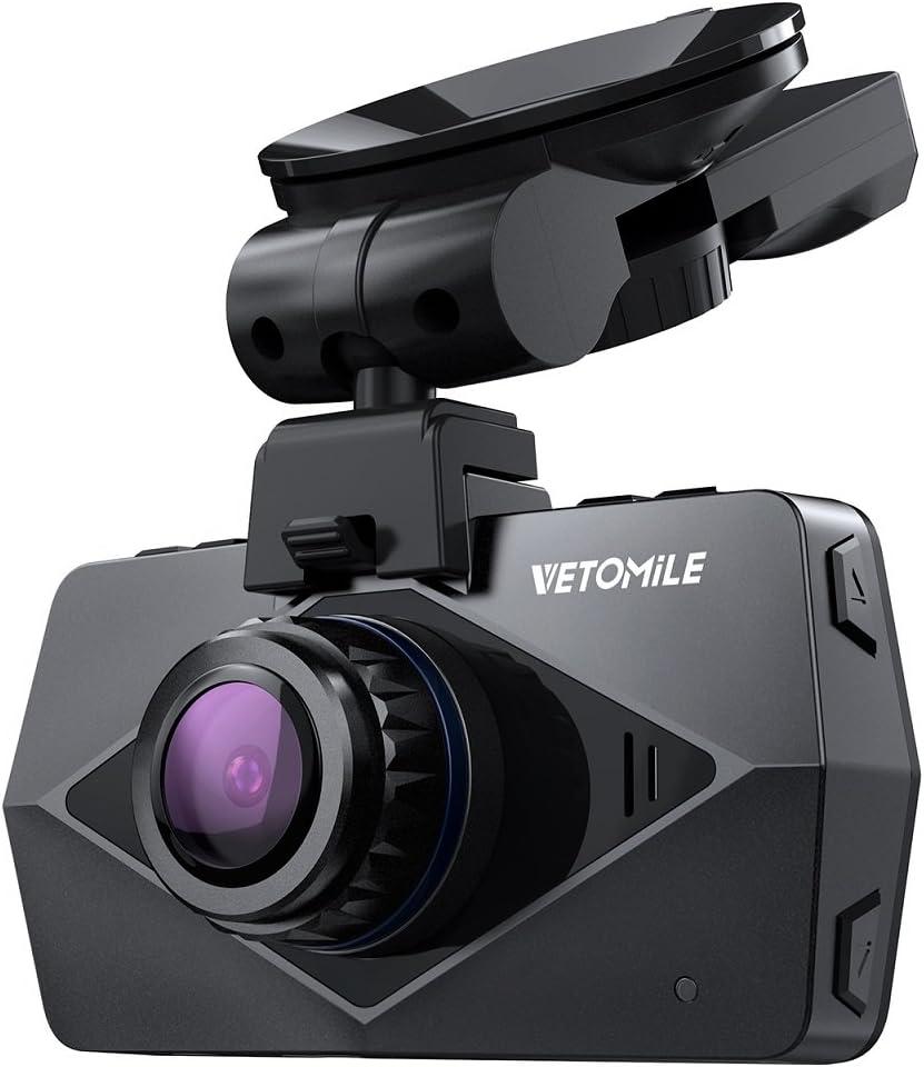 VETOMILE V2 Full HD Cámara De Coche, Cámara grabadora de Vídeo ...