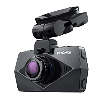 Amazon com: VETOMILE V2 Dash Cam 2 5K HD 1440P 30fps, 1080P 60fps