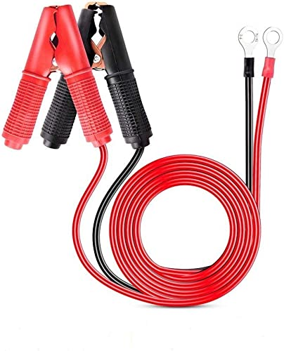 Nilight 2 Pcs 30A Alligator Clips Booster Jumper Cable