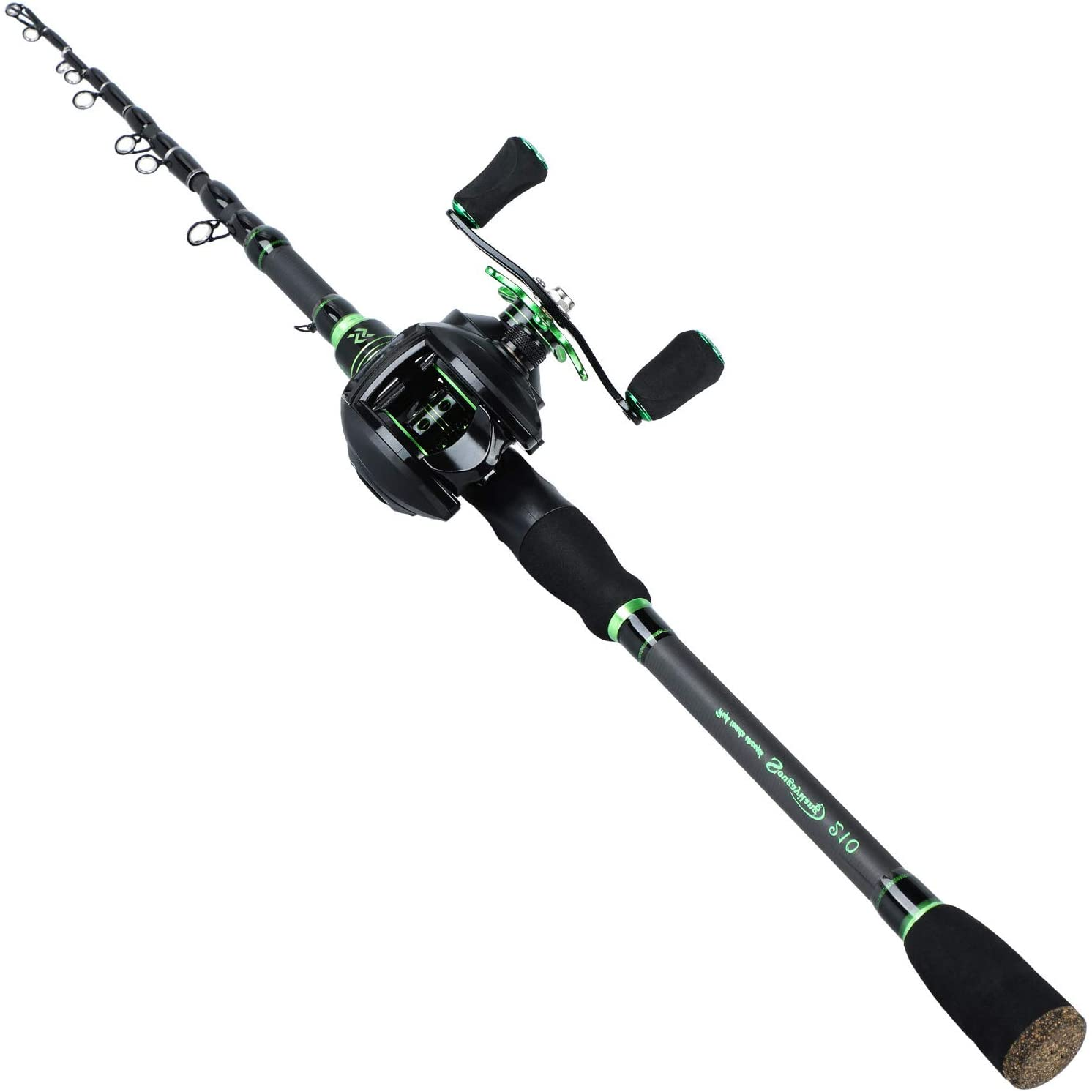 Amazon.com : Sougayilang Fishing Rod Reel Combos with Telescopic