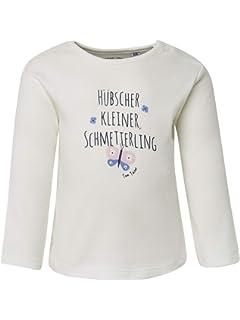 TOM TAILOR f/ür M/ädchen T-Shirts//Tops Langarmshirt mit Stickereien