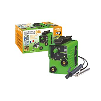 GYS Inverter 2500 - Kit de soldadura (2300W, 230V), color: verde