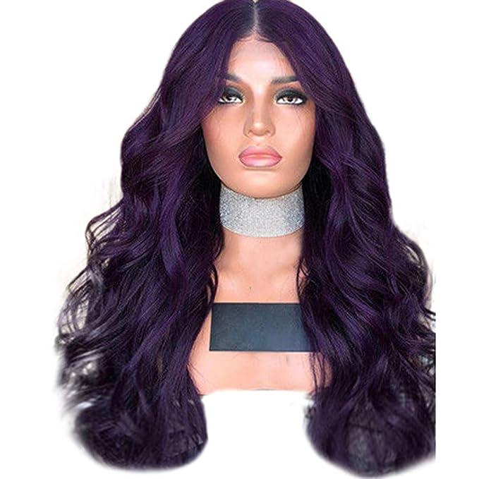 Pelucas mujer pelo natural largo corto rizado rubio negro ...