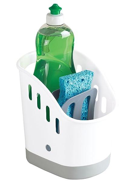 kitchen sink organizer sink caddy for kitchen organization kitchen sponge and brush holder and organizer - Kitchen Caddy