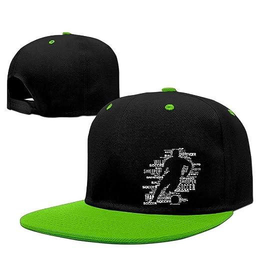 Adjustable Hat Funny Cap I Love Soccer Snapback Trucker Sun Hats Baseball  Dad Caps for Men e12daecb916