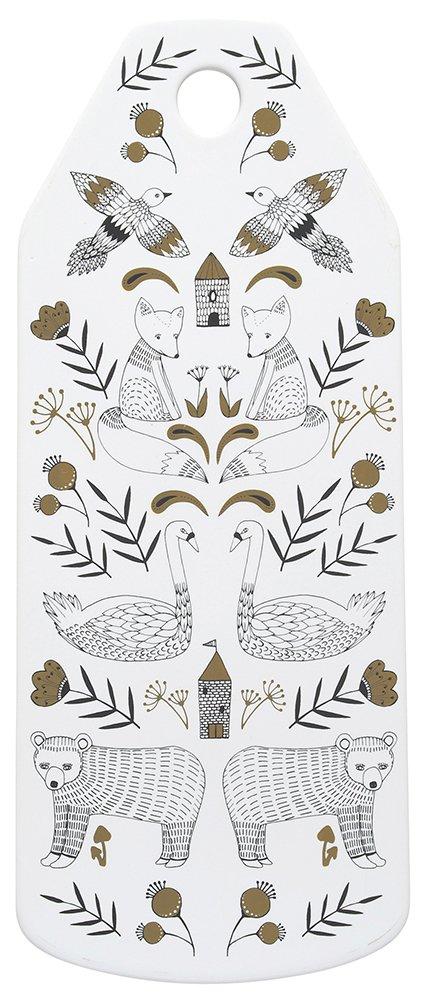 Danica Studio Ceramic Cheese Board, Wild Tale