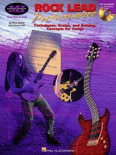 Rock Lead Performance: Techniques, Scales and Soloing Concepts for Guitar (Musicians Institute Press) by (1998-10-01)