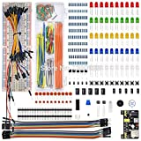 Utini WeiKedz Electronic Components Kit MB-102 Breadboard,65 Jumper Wire for Raspberry Pi, STM32