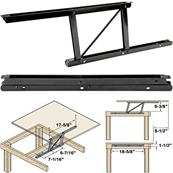 Woodtek 164228, Hardware, Table, Folding Table Hardware, Coffee Table Top  Lift Mechanism