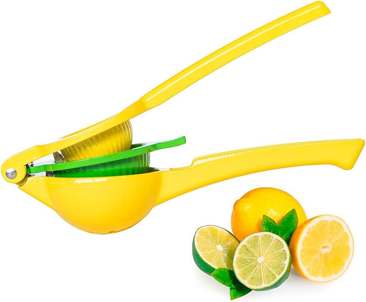 SUNTRADE Limes and Lemon Squeezer,Manual Lemon Squeezers Juicer Orange Fruit Citrus Lime Juice Maker Kitchen Tool