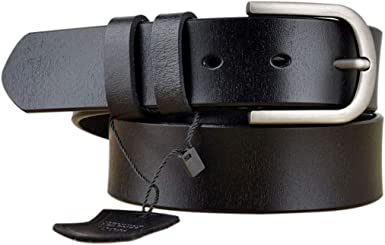 Womens Leather Belts for Jeans, Vonsely Women Leather Waist Belts for Pants  at Amazon Women's Clothing store