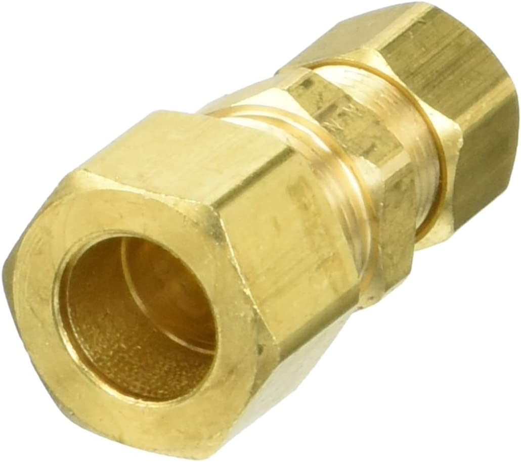 Rough Brass Brasscraft 62-8-6X 3//8 by 1//4 OD  Reducing Union Lead-Free