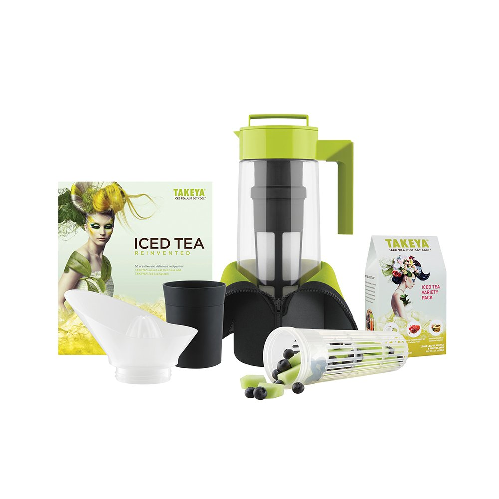 Takeya Deluxe Iced Tea Beverage System, 2-Quart by Takeya