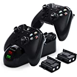 Controller Charger for Xbox, YCCTEAM Battery Pack Rechargeable for Xbox One, Xbox One X, Xbox One S, Xbox One Elite Controlle