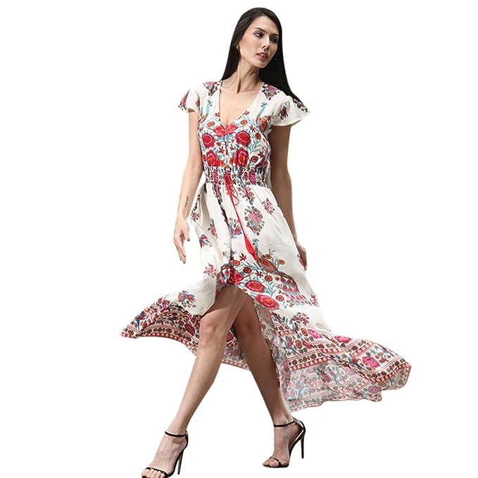 ❤ 50er Vintage Retro Kleid , ❤ Damen Party Club Kleider Blumen ...