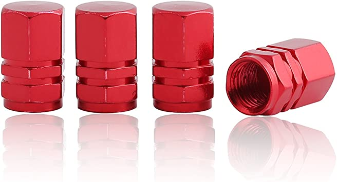 Red *U.S.A Seller* Presta Valve Cap