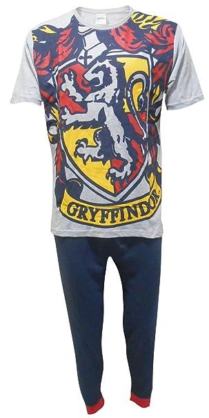 Harry Potter Hombres Gryffindor Logo Set de Pijama de Dos Piezas - Pequeño