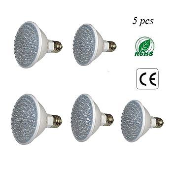 SOLUCKY LED Grow Luces Bombilla Interior Plantas Grow Lámpara Hidroponía Invernadero Planta Orgánica Luces 5 Paquetes