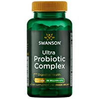 Swanson Ultra Probiotic Complex 30 Billion Cfu 60 Veg Capsules