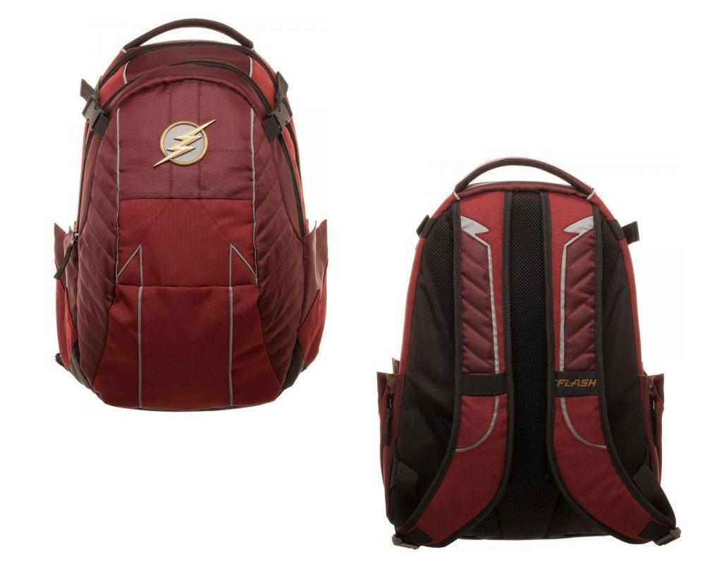 3c0e072d5b9 DC Comics Flash Premium Laptop Backpack: Amazon.co.uk: Luggage