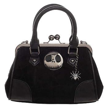 Nightmare Before Christmas Purses Handbags.Amazon Com Nightmare Before Christmas Metal Logo With